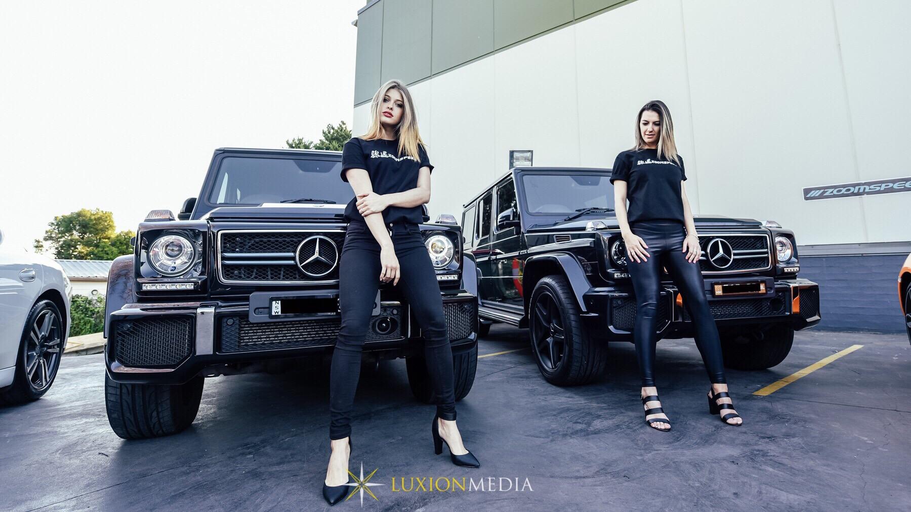 Dual G63 AMG & Showgirls