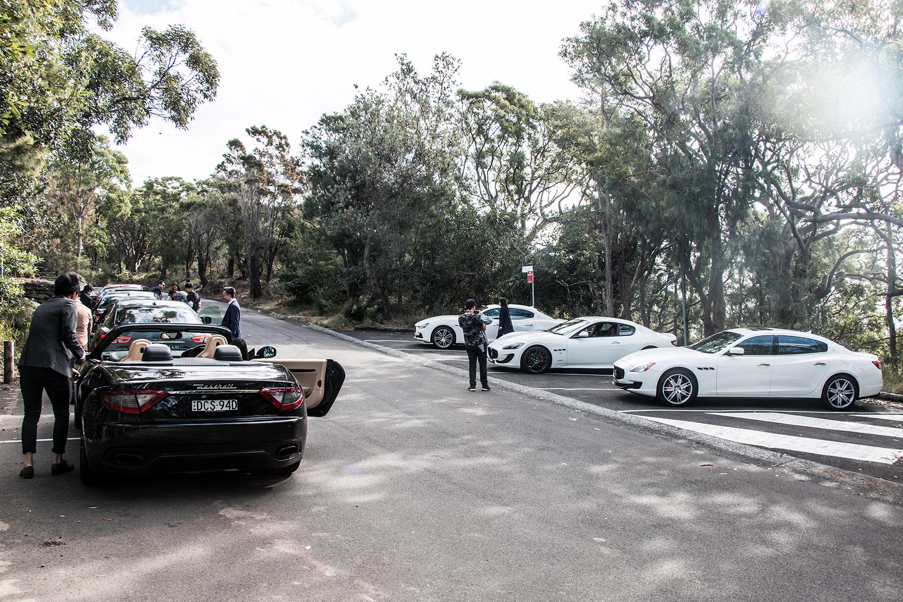 Drivers break at West Head