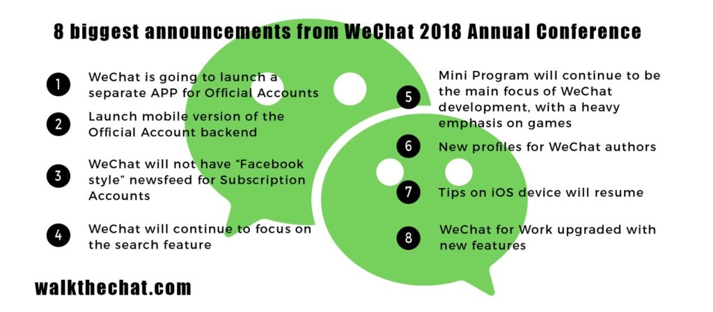 8 biggest announcements from WeChat 2018 Annual Conference