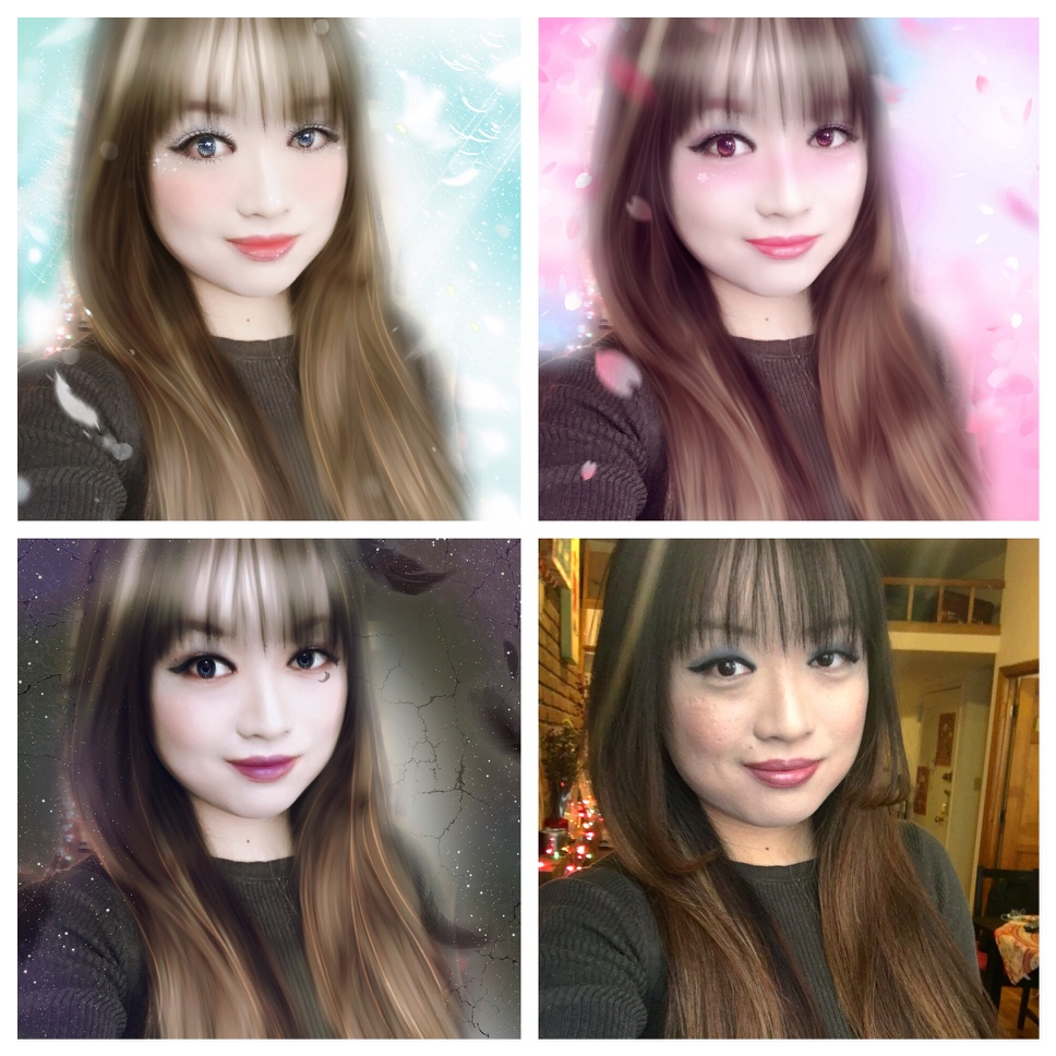 Meitu offers unique filters created by brands